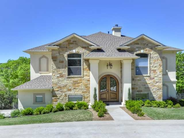 Exterior ideas stone and stucco combo home pinterest for Exterior by design stucco stone