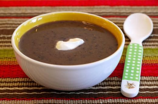 Crock Pot Black Bean Soup | Nourishing Foods | Pinterest