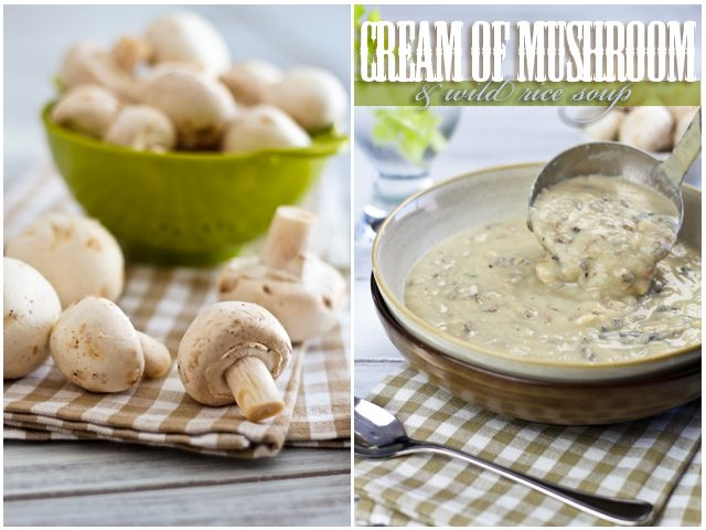 Cream of Mushroom and Wild Rice Soup | Recipe