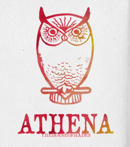 the symbol of athena