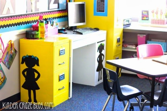 how to spray paint your file cabinets and answers to other classroom. Black Bedroom Furniture Sets. Home Design Ideas