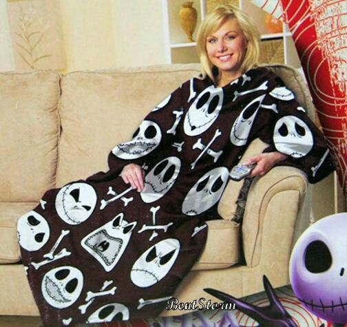 Jack snuggie | Nightmare Before Christmas Obsession | Pinterest