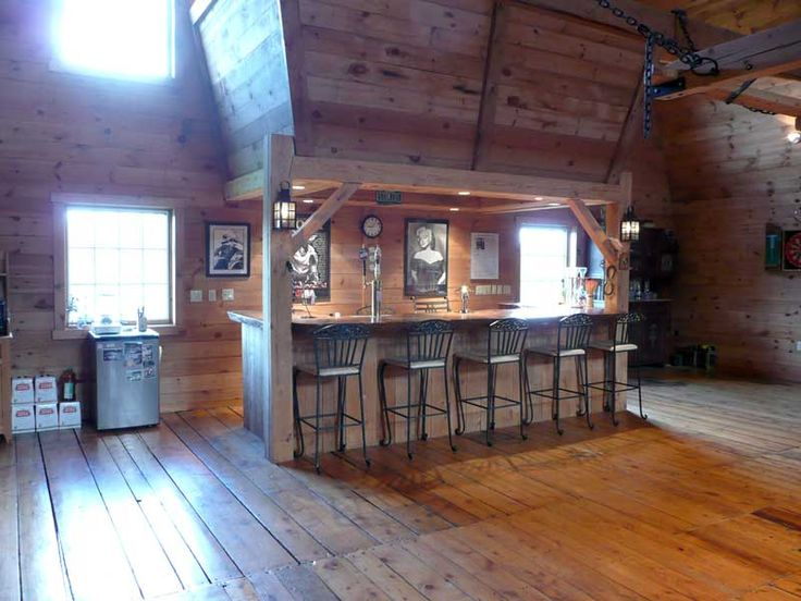 A bar in the barn | Home Sweet Home | Pinterest