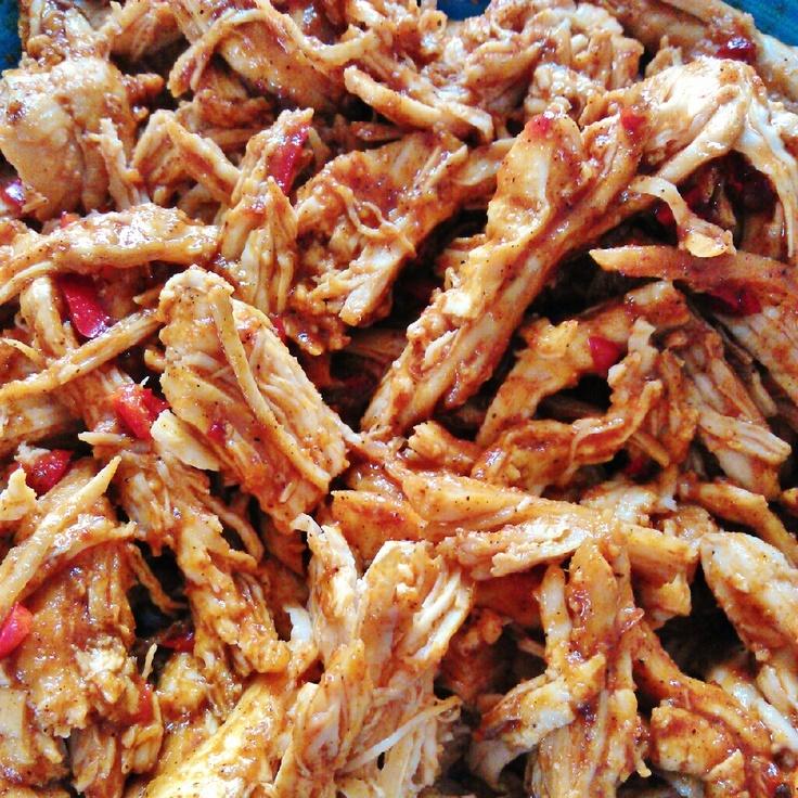 Shredded Chicken Tacos - AMAZING! | Yummy! | Pinterest