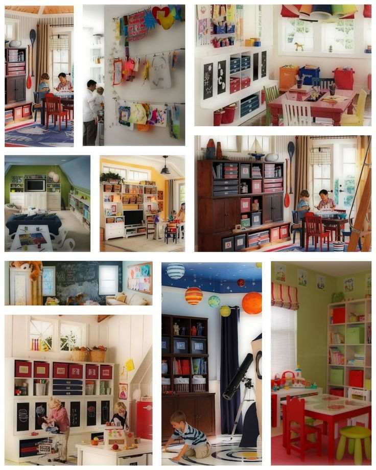 Kids Playroom Ideas Pinterest