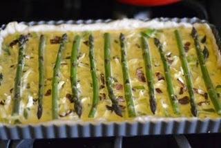 Asparagus and Leek Quiche | Yummy Savoury Stuff | Pinterest