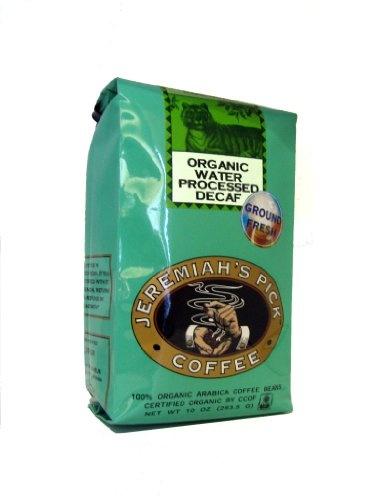 Certified organic by ccof ground fresh decaffeinated swiss water