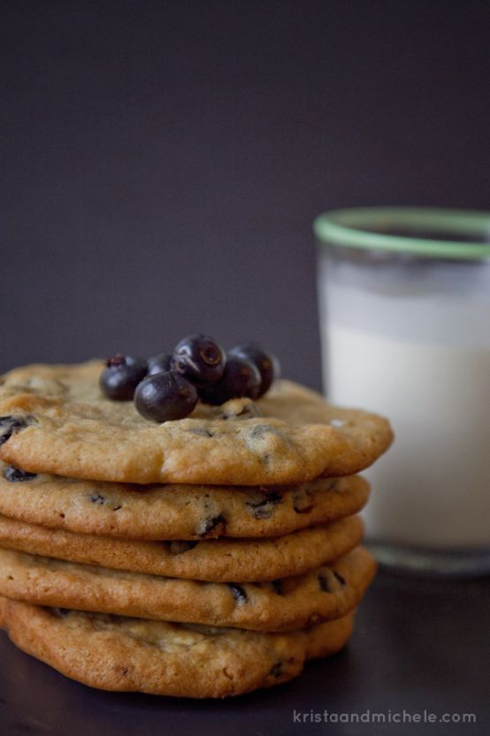 Momofuku's blueberry and cream cookies   Food Glorious Food ...