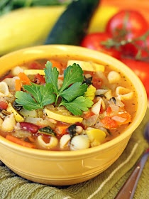 polka-dotted elephants: Minestrone Soup | food may be my best friend ...