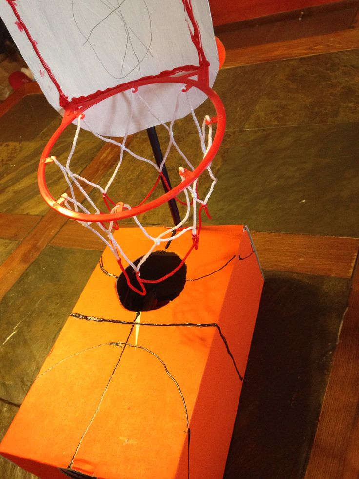 basketball valentines box