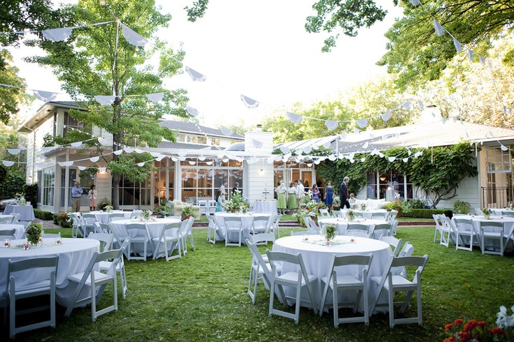 Perfect Backyard Wedding : perfect garden wedding!  Wedding Outdoors  Pinterest