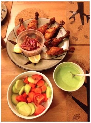 Grilled chicken tandoori style! | Fooooooood~~☕ | Pinterest