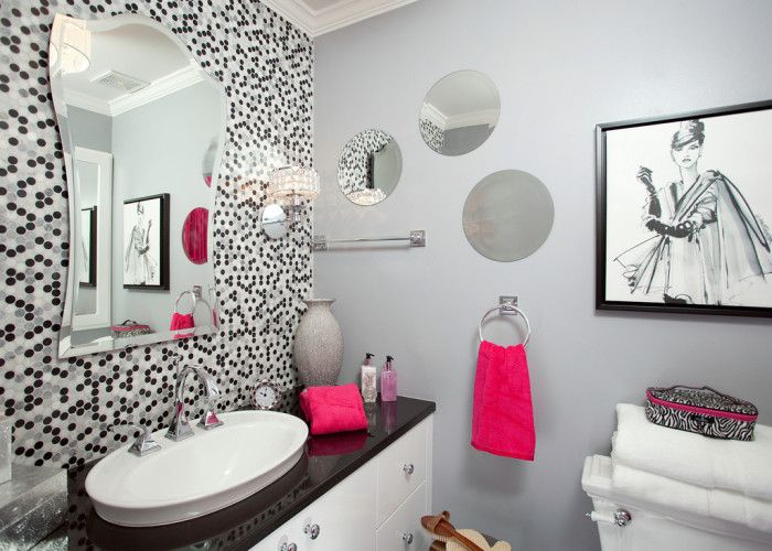 Key Interiors By Shinay Teen Girls Bathroom Ideas Girl Bathroom Ideas ...