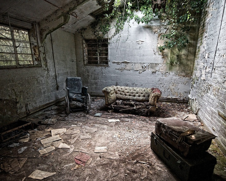 Abandoned room wallpaper | Abandoned | Pinterest