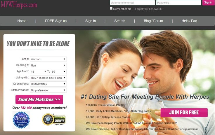 Hsv free dating sites