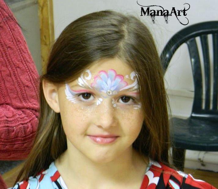 Princess Face Paint Mask