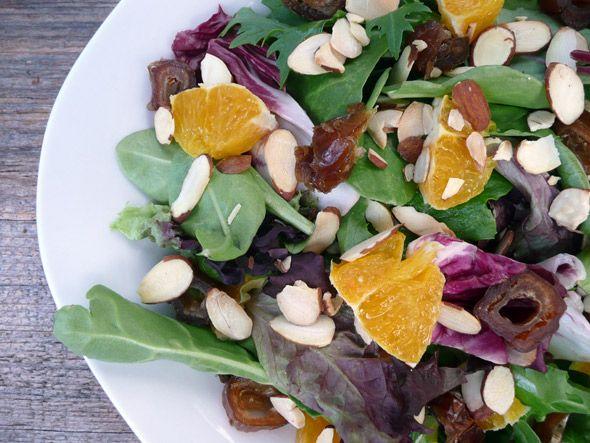 My Mom's Orange, Date & Almond Salad