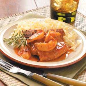 Slow Cooker Pork Chop Recipe for two