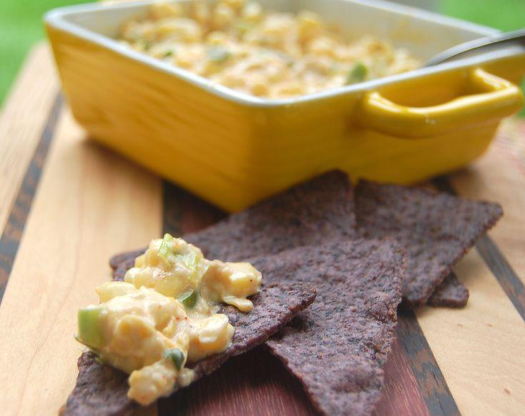 Hot Corn & Artichoke Dip | Recipe