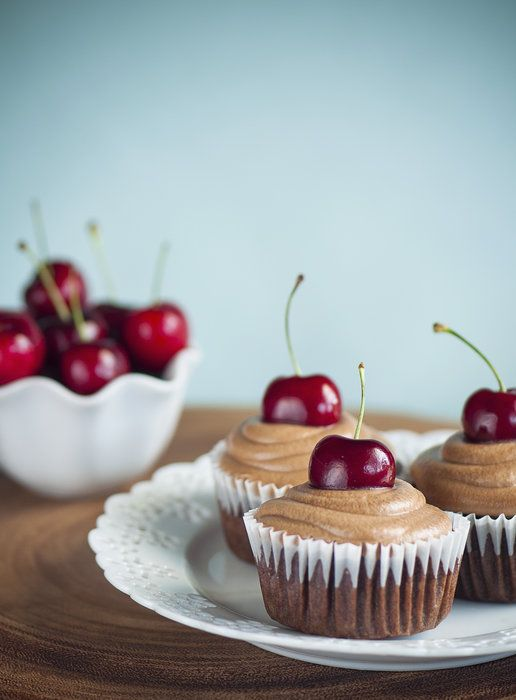 Homemade Cherry Coca Cola Cupcakes by Charlene Champion on Capture ...