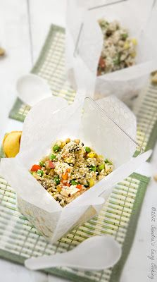 Spicy Chicken with Fried Rice - rice - organic green tea bag - 3 ...