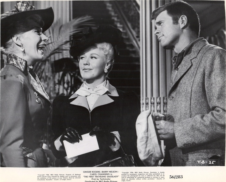 ginger rogers first traveling saleslady