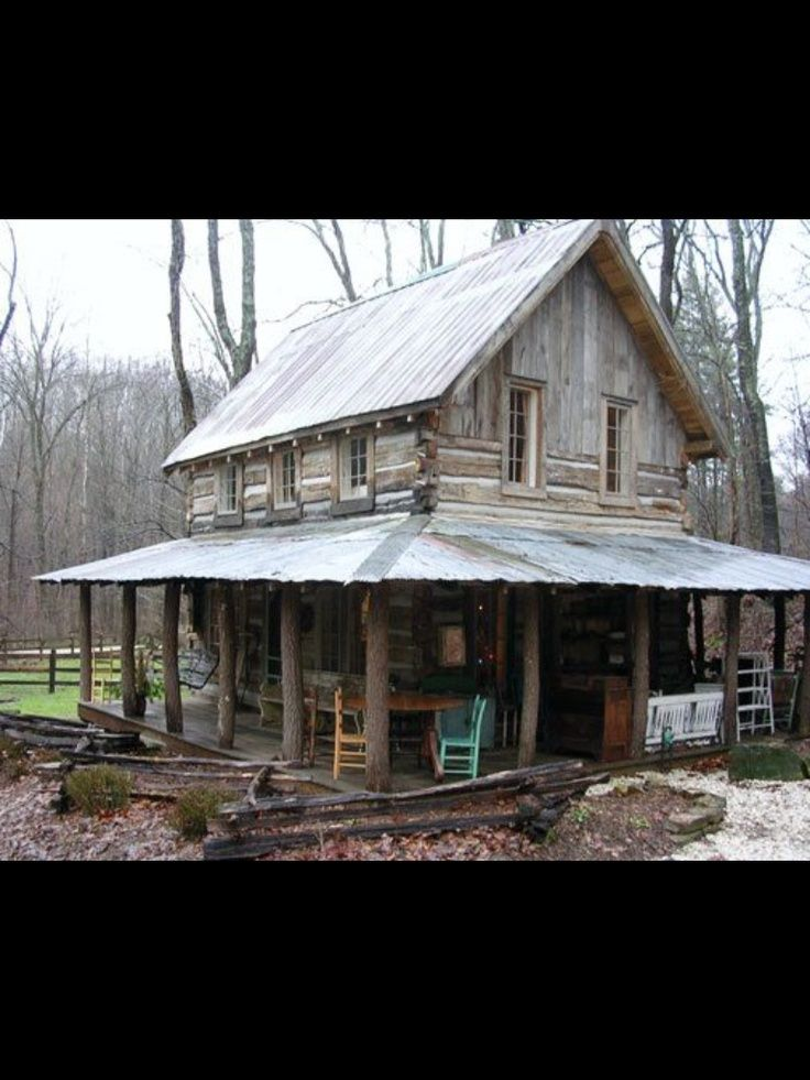 Old Cabin Cozy Log Cabins Log Cabin Dreamin Pinterest
