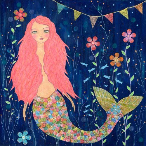 Mermaid Shower Curtain | Sirens | Pinterest