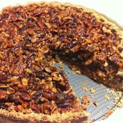 Pecan Pie V Allrecipes.com - going to sub sunflower seed and pretzels ...