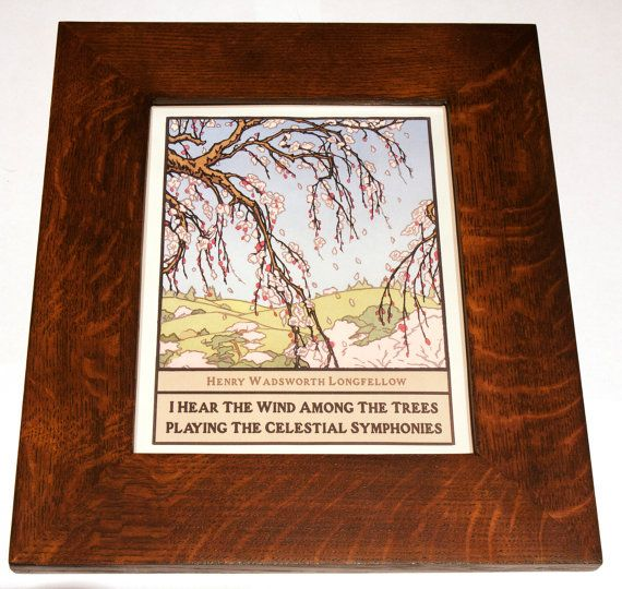 Arts And Crafts Mission Style Picture Frame