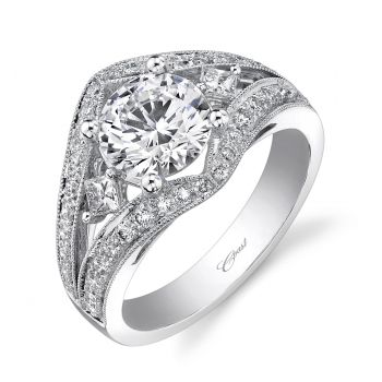 Coast Diamond Engagement ring (#LC5154) - This sophisticated ring ...