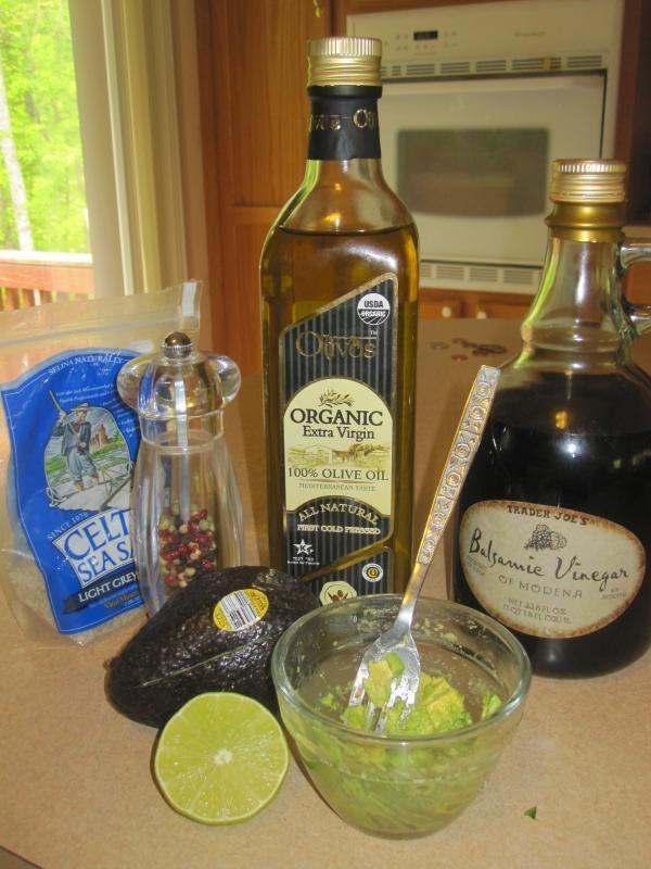 Avocado Salad Dressing - S | Recipes | Pinterest