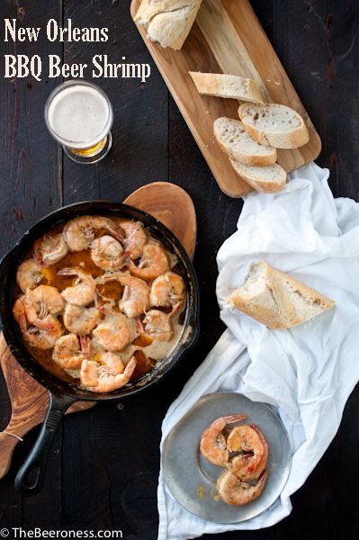 New Orleans Barbecue Beer Shrimp | Recipes | Pinterest