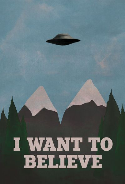 X-Files Twin Peaks Mashup Art Print