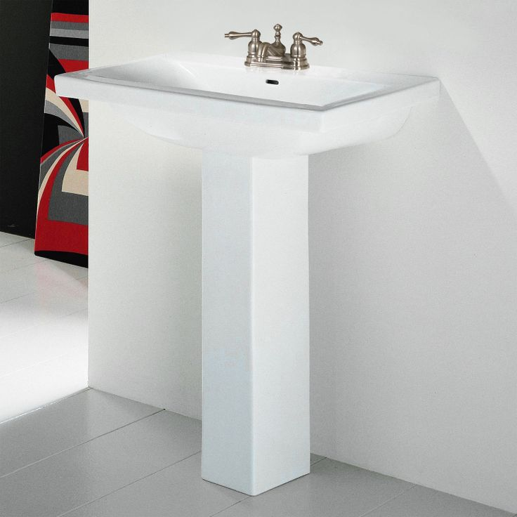 Mistral Petite Pedestal Sink Home design ideas Pinterest