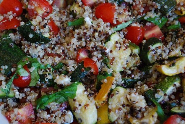 Roasted vegetable Quinoa Salad | Favorite Recipes | Pinterest