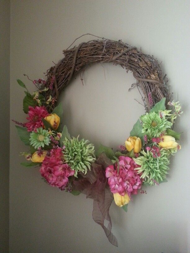 Summer wreath | Ideas | Pinterest