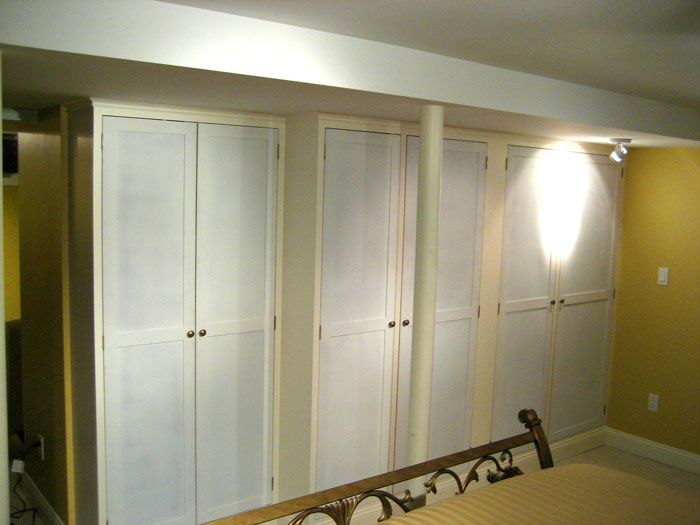 Closet storage in basement organize pinterest for Basement closet ideas
