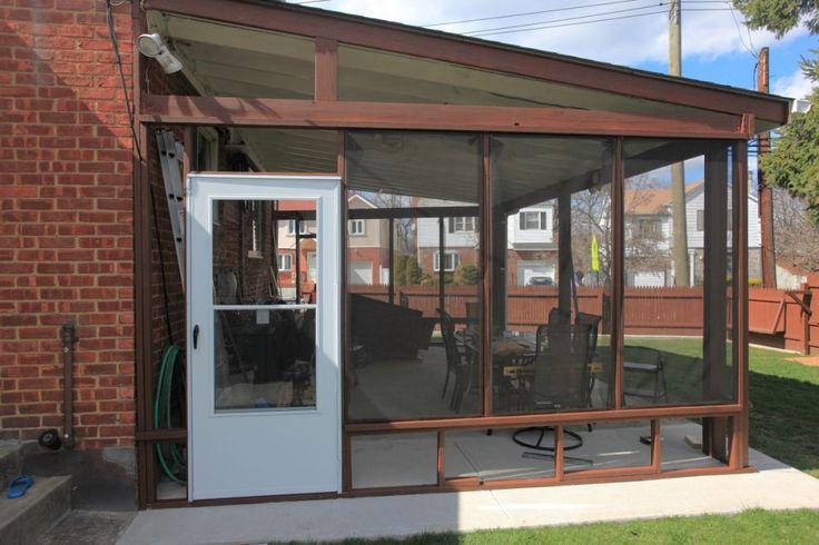 diy enclosed patio garden