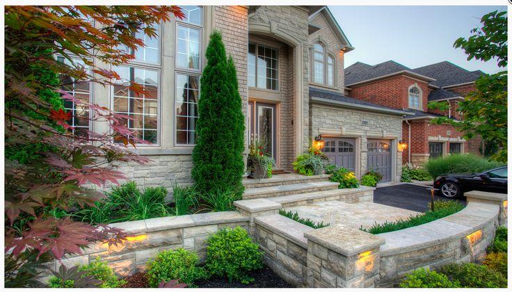 Front steps front yard landscaping ideas pinterest for Landscaping front steps