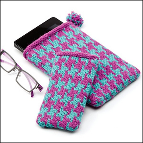 Creative Knitting : Colorwork Techie Case - from Creative Knitting Winter 2012