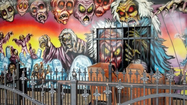 Zombie Castle, Rye Playland | HAUNT ATTRACTIONS | Pinterest