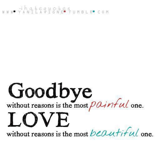 Sad Quotes About Saying Goodbye. QuotesGram