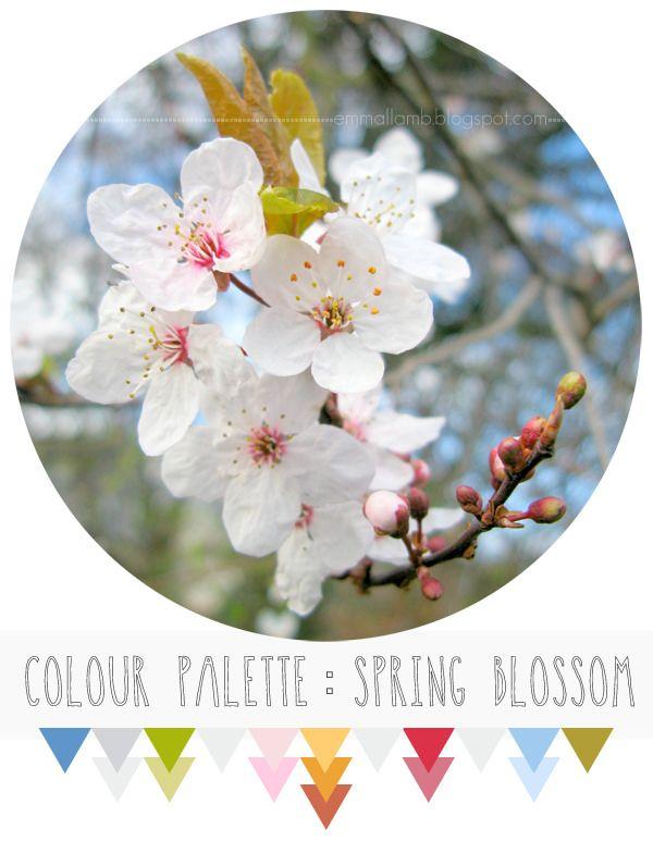 tavolozza di colori: fiore di primavera | Emma Lamb
