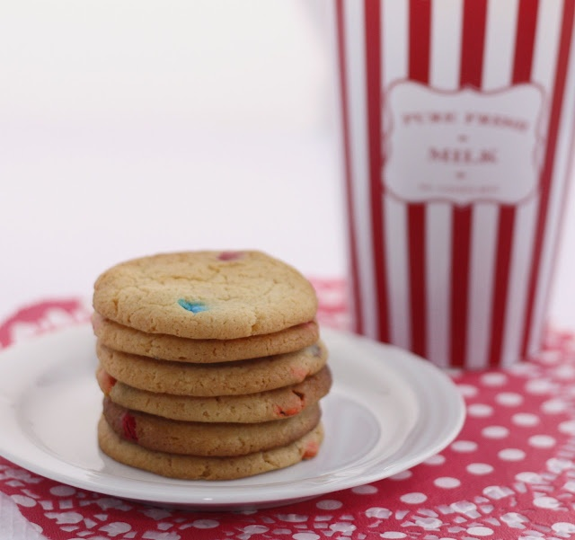 spoonful of sugar m amp m cookies