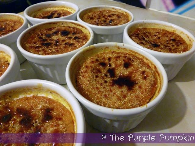 The Purple Pumpkin Blog: Halloween Pumpkin Pie creme brulee