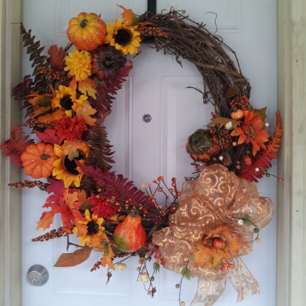 Fall wreath diy crafts pinterest for Fall diy crafts pinterest