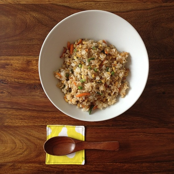 quick fried rice for lunch. | Recipes | Pinterest