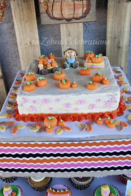 Girly Pumpkin Patch Birthday Party Ideas
