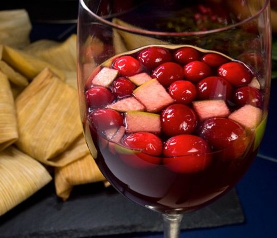 Spiced Cranberry Sangria: It's the classic fruity sangria taste ...